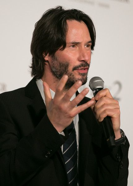 Keanu Reeves attends the Japan premiere of 'John Wick: Chapter 2' at Roppongi Hills on June 13, 2017 in Tokyo, Japan.