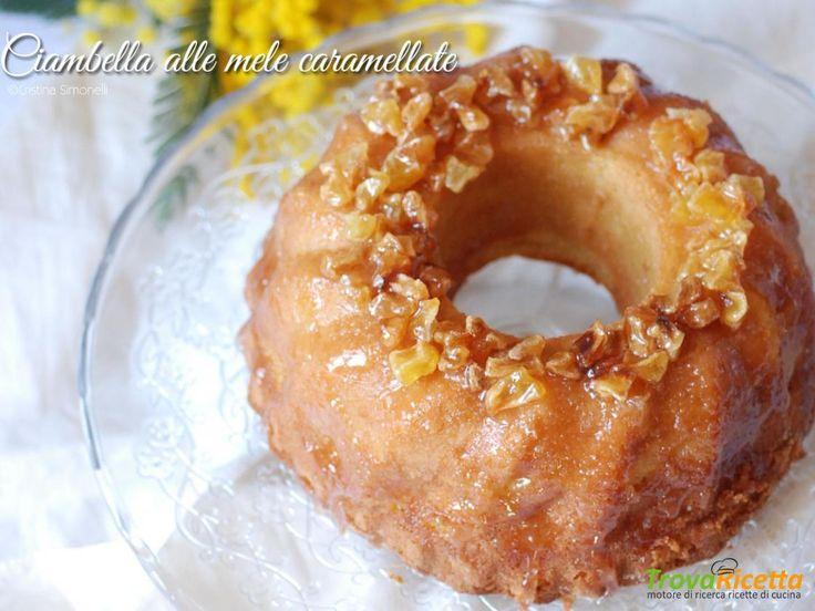 Ciambelle alle mele caramellate con farina di avena  #ricette #food #recipes
