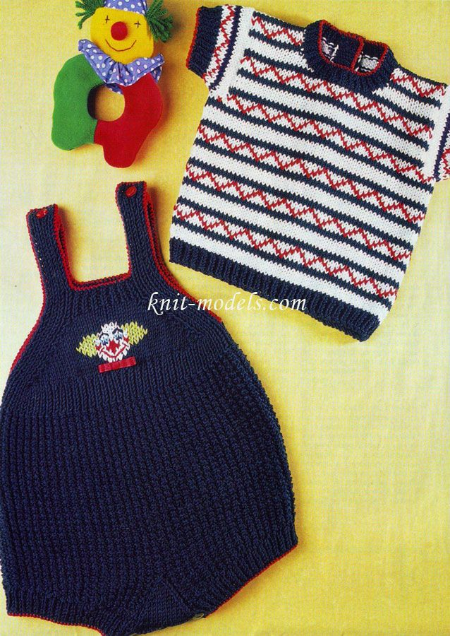 Вязание для детей. Вязание спицами
