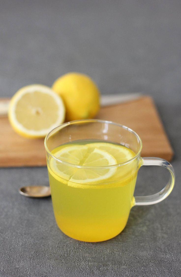 Infusion citron, gingembre et curcuma.