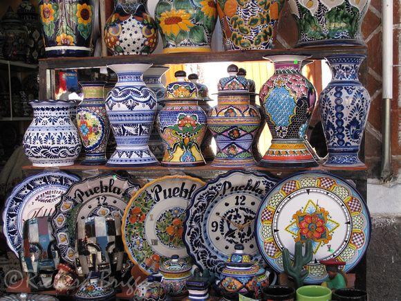 Talavera at El Parian, Puebla