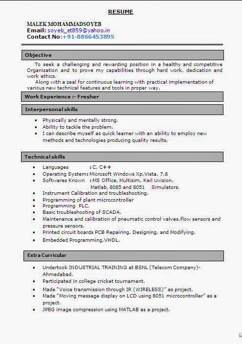 consulting resume examples Sample Template example ofExcellent - resume quick learner