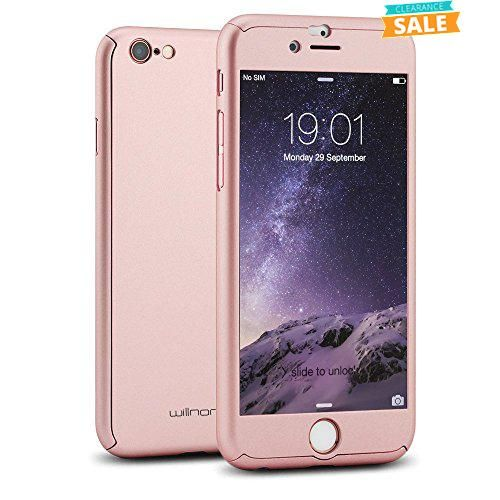 """#cellphone #Willnorn® [Norn One] Ultra Thin Full Body Coverage Protection Hard Slim iPhone 6 Case with Tempered Glass Screen Protector for Apple iPhone 6 4.7"""" Pa..."""