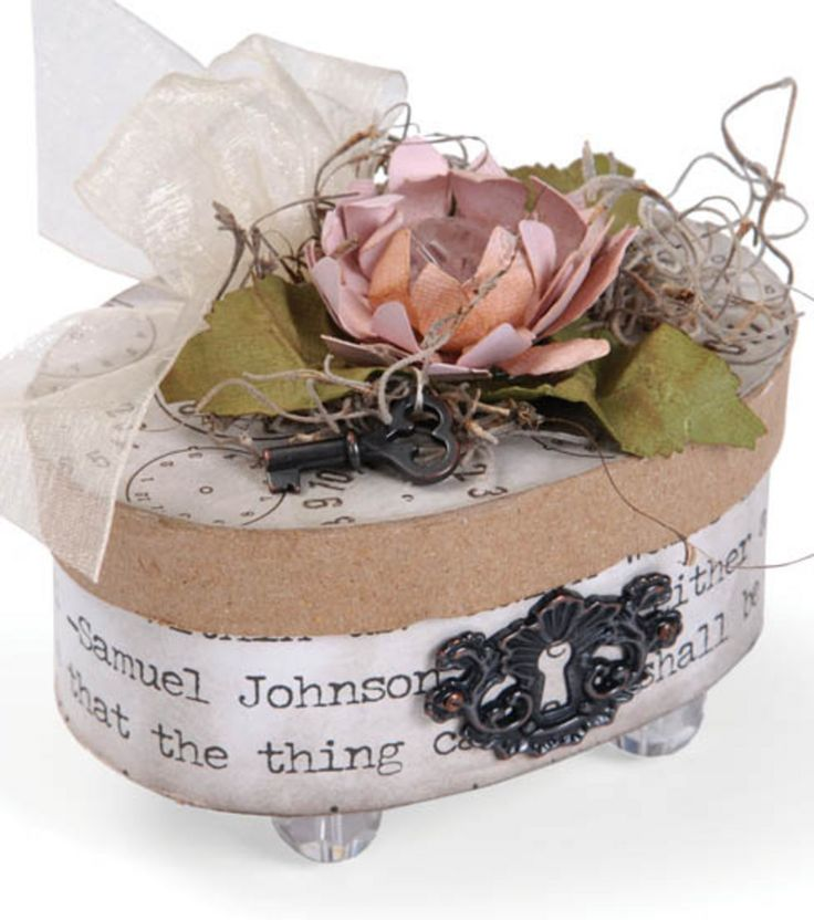 Paper Mache Box with Mod Podge | Find Mod Podge projects at Joann.com