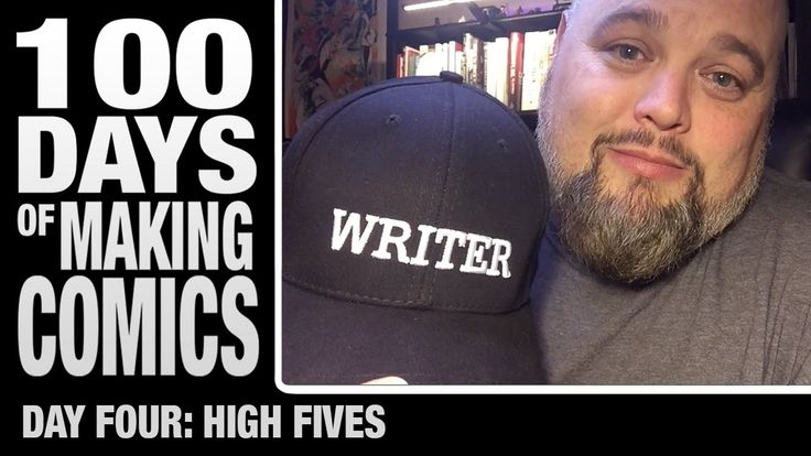 High Fives - Day 4 - 100 days of making comics