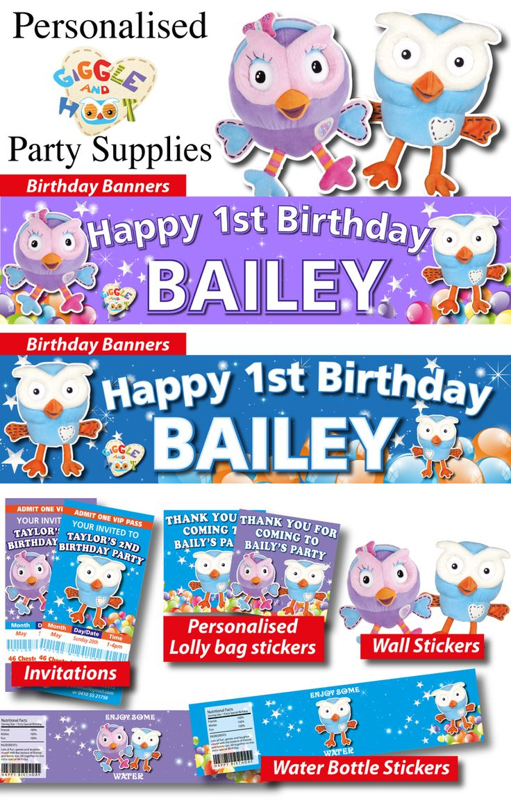Abby Cadabby Party Decorations 17 Best Images About Personalised Party Decorations On Pinterest