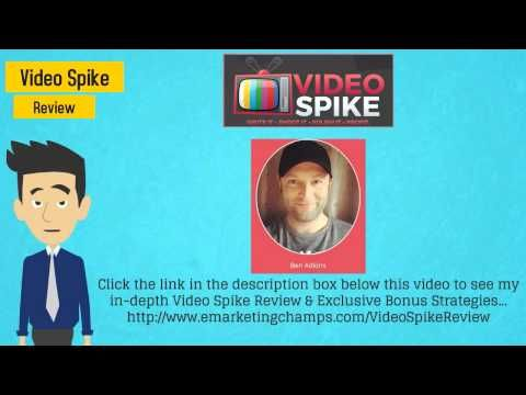 Check out this exclusive review of the Lead Monster and Video Spike and learn about the advantages and dis-advantages of this product -- VideoSpike Bonus --- http://emarketingchamps.weebly.com/video-spike.html