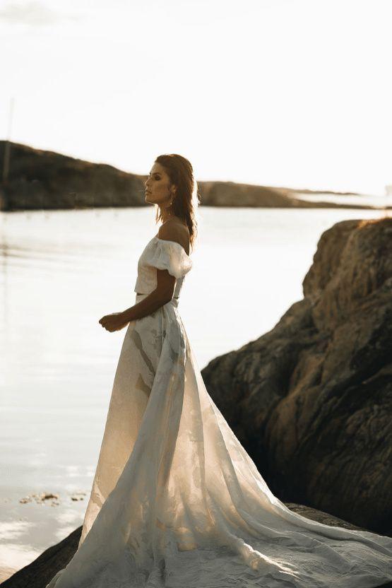Stunning Scandinavian Bridal Inspiration A Special Swedish Pop Up In 2020 Bridal Inspiration Bridal Beautiful Wedding Dresses