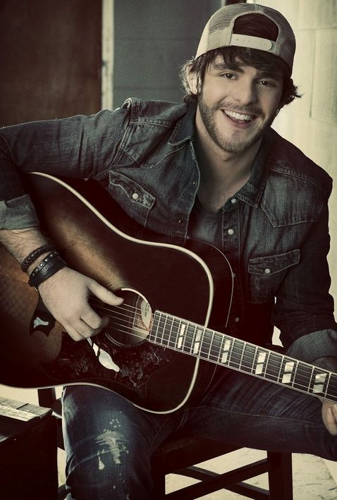 Thomas Rhett. Not only is he fine as hell, he is also amazing in concert as well :)
