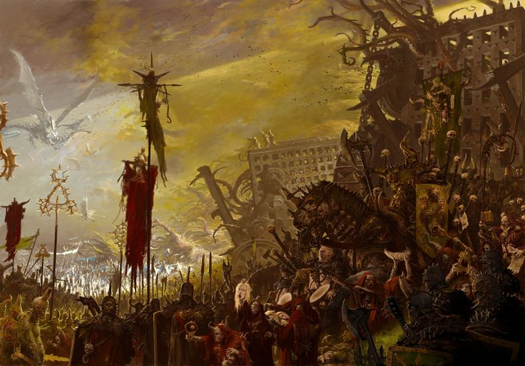 art for games workshop publication 'armies of chaos'- , adrian smith on ArtStation at http://www.artstation.com/artwork/art-for-games-workshop-publication-armies-of-chaos