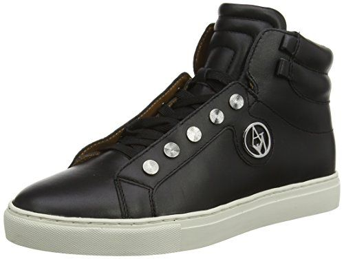 Armani Jeans B55G665 Damen Hohe Sneakers - http://on-line-kaufen.de/armani-jeans/armani-jeans-b55g665-damen-hohe-sneakers