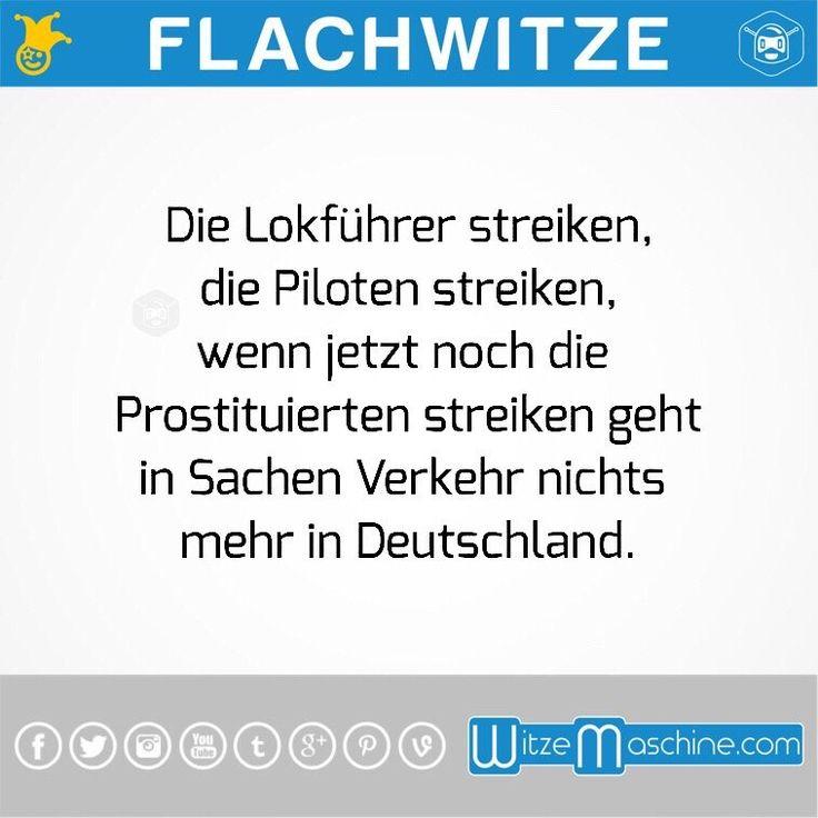 Flachwitze #81 - Piloten, Lockführer und Prostituierte streiken