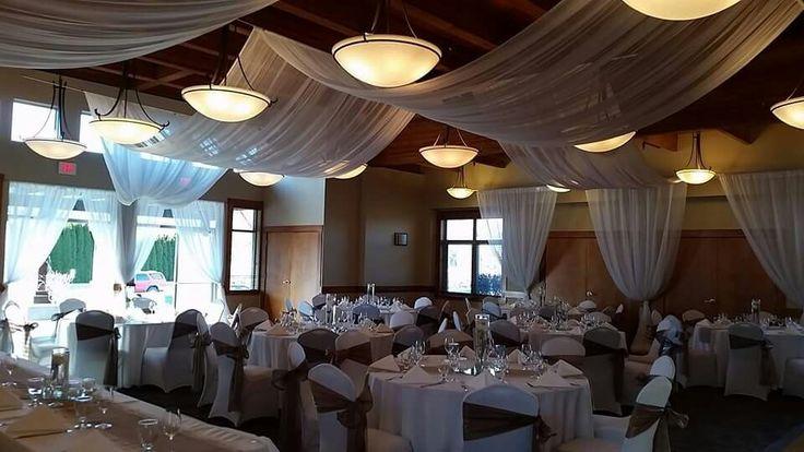 Wedding Decor Ceiling Treatment Canopy - The Cove Lakeside Resort