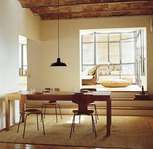 Nice Natural Materials Colors Dining Lighting Living Modern Rustic Interiorshome