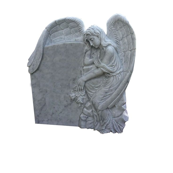 Angel Shaped Headstone designed by Forever Shining.
