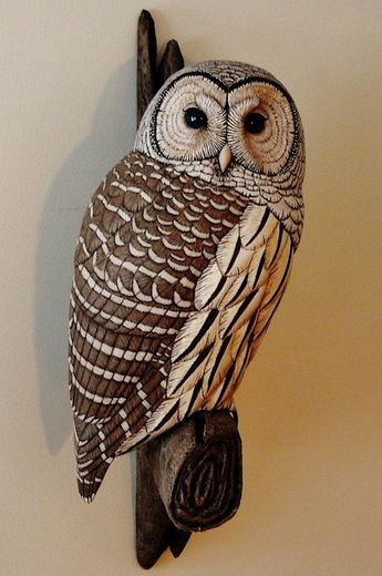 Best woodcarving owls images on pinterest