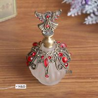 Antique Decorative Glass Vintage Empty Perfume Bottle New Women Christmas Gifts