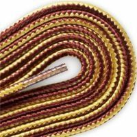 FootGalaxy Gold and Tan Boot Laces, 54 inch FootGalaxy. $2.99
