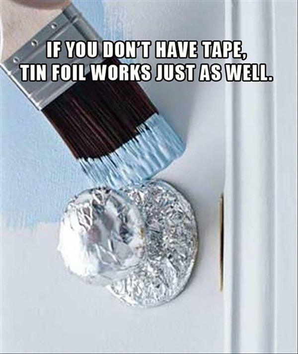 Aluminum Foil Works Its Magic With These Life Hacks - Scissor Sharpener | Guff