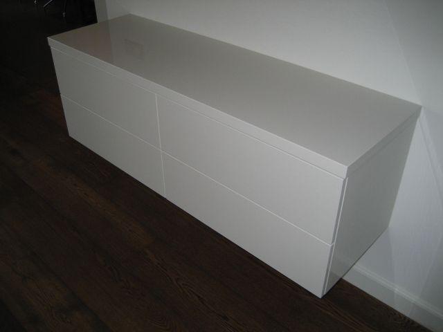 Collectie design meubel: BASELINE TV-MEUBELEN EN TV- DRESSOIRS, BASELINE 110 zwevend tv-dressoir