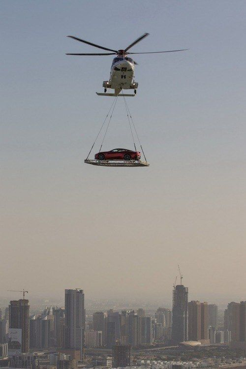 Smart solutions to traffic jams. | 35 Things You See Every Day In Dubai