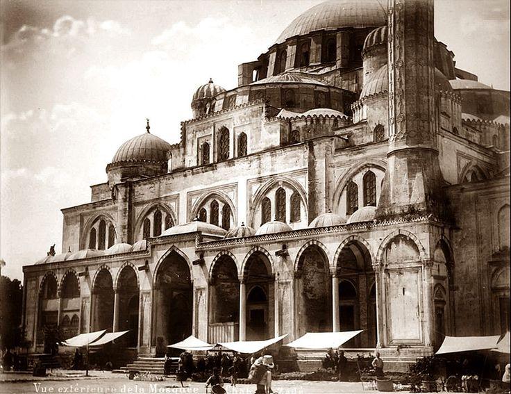 şehzade camii eskiden ile ilgili görsel sonucu