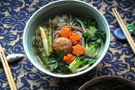 Vegetarian / Vegan Dashi - Japanese Stock | Azelia's Kitchen