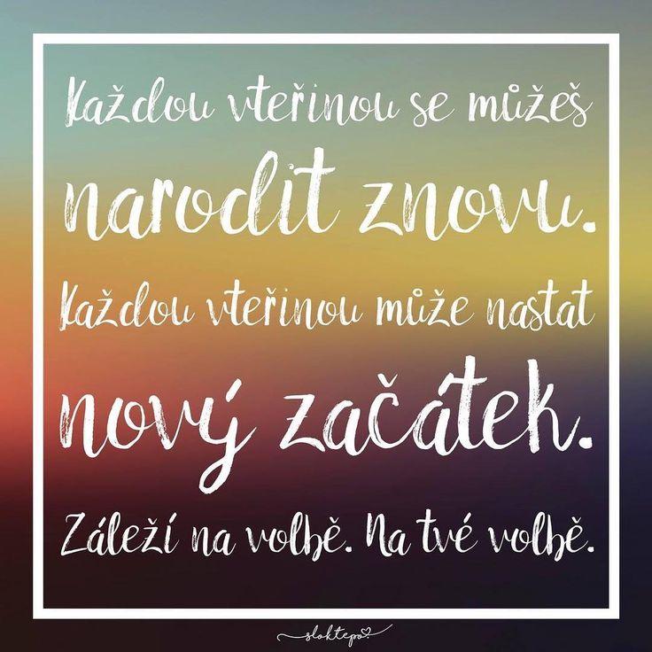 Pokaždé máme volbu, jak se ke každému novému dni postavit. Přejeme krásnou neděli ☀️☕️ #sloktepo #motivacni #hrnky #miluji #kafe #citaty #domov #stesti #darek #laska #mujsen #mujzivot #mojevolba #dobranalada #inspirace #originalgift #prague #czechboy #czechgirl #czech
