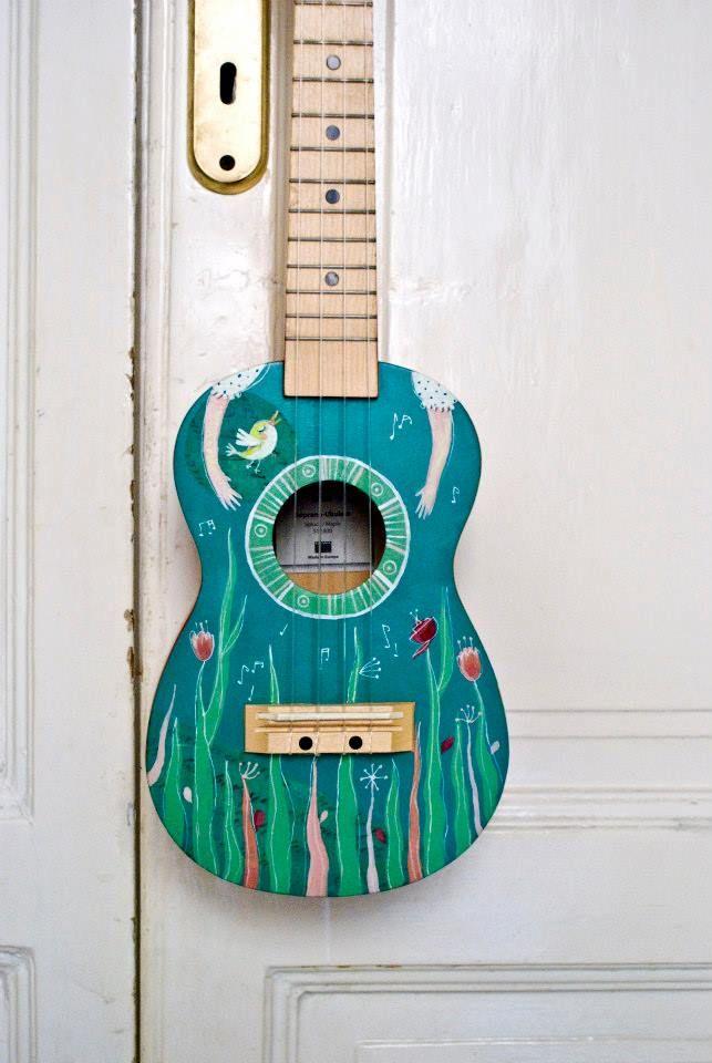 Lucky L'UKE, ukulele by Mondo • Mombo