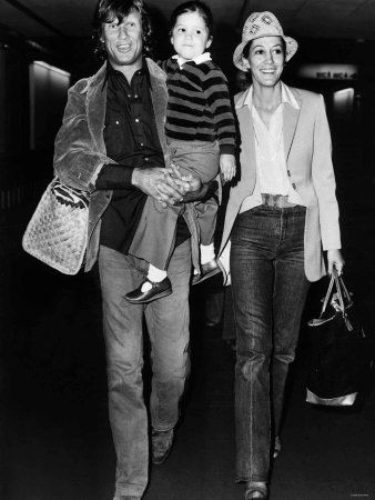 Kris Kristofferson with Rita Coolidge and their daughter Casey