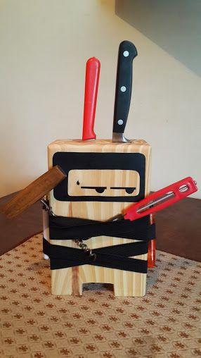 Ninja cuchillero