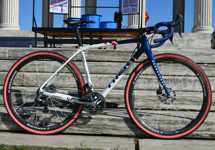 Katie Compton's Trek Boone Disc 'cross bike