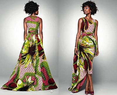 african print evening gowns - Google Search