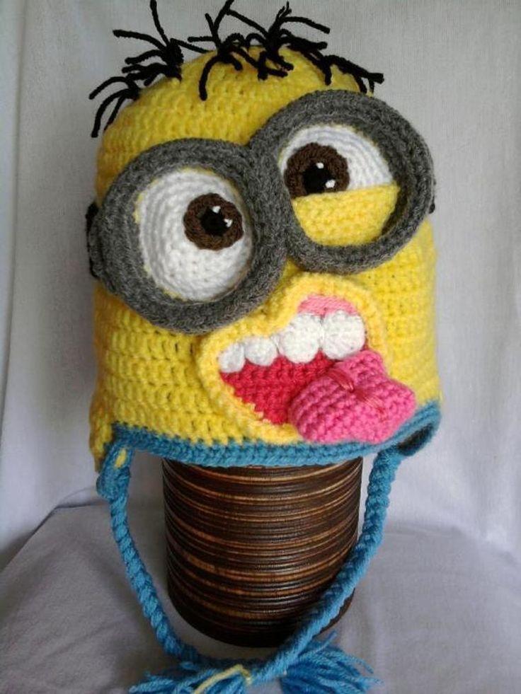 Minion crochet hats   Craftsy