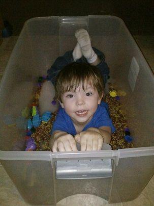 Sensory Bins Ideas. Sensory Bins. Sensory Processing Disorder Parent Support