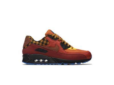 Nike Air Max 90 Premium Em Chaussures Mens Papillons Orange / Noir