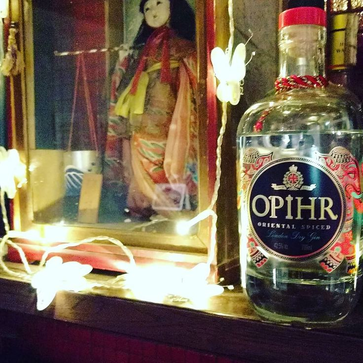 Hello my old friend  #opihr #gin #drinks