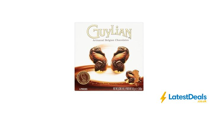 Guylian Belgian Chocolates Seahorse Selection Box of 4 Free C&C, £1 at Superdrug