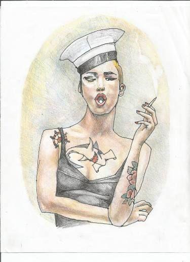 "Saatchi Art Artist Jaime Vera; Drawing, ""true sailing is dead"" #art"