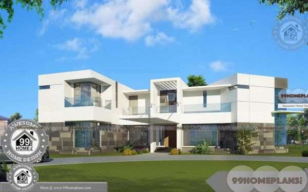Two Storey Homes With Rear Balcony And Beautiful Italian Style Houses Storey Homes Bungalow House Plans 5 Bedroom House Plans