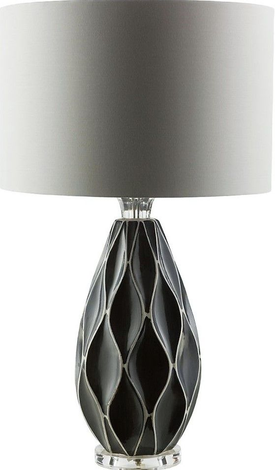 Featuring A Textured Teal Base And White Drum Shade, This Table Lamp Brings  Distinctive Style To Your Console Table Or Nightstand. Amazing Ideas