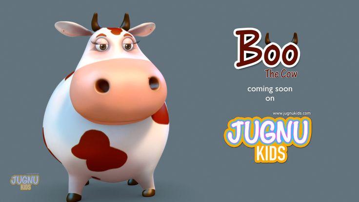 funny cow video for children - Jugnu Kids