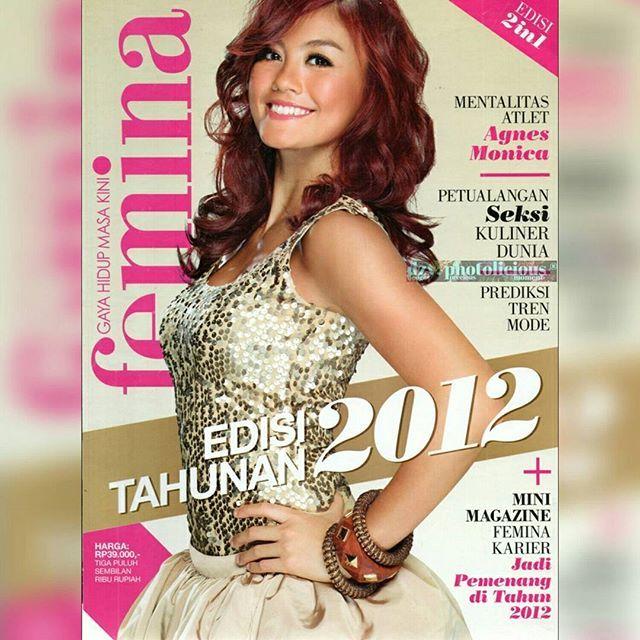 AGNES MONICA  FEMINA EDISI TAHUNAN 2012  BUSANA:BARLI AKSESORIS:MIKA AKSESORIS RIAS WAJAH : UPAN DUVAN RAMBUT : ADY JOSE - ADI ADRIAN SALON PENGARAH GAYA : MIRA MONIKA FOTO : TODI  #agnesmonica #singers#actress #feminaindonesia #edisitahunanfemina #2012
