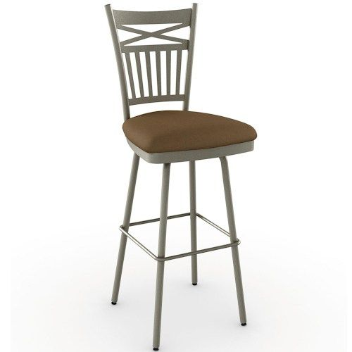 Stools Cottage Garden Bar Stool With Spindle Back With X