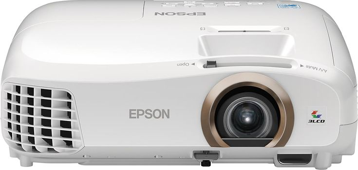 Epson - Home Cinema 2045 LCD Projector - White