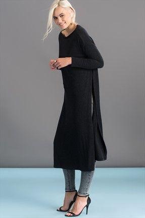 Milla by trendyol · Casual - Siyah Tunik MLWAW169009 sadece 59,99TL ile Trendyol da