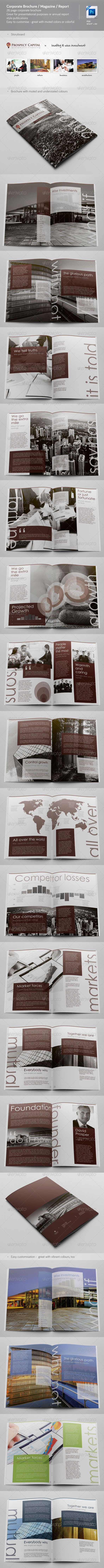 Corporate Brochure / Magazine / Annual Report