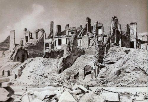Warsaw, 1945.