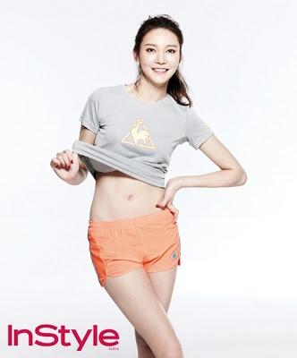 Cha Ye Ryun - InStyle Magazine May Issue 2013