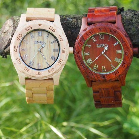 Ceas din lemn TimeWood Becrux Unisex